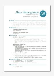 Modern Resumes Templates Inspiration Contemporary Resume Templates Resume Badak
