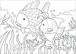 rainbow fish color page fish coloring pages fish coloring page the rainbow fish coloring page coloring