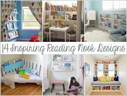 14 inspiring reading nook and corner designs for kids via lilblueboo.com