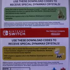 Pokemon Sword and Shield Larvitar and Jangmo-o Dynamax Crystals codes, Toys  & Games, Video Gaming, Video Games on Carousell