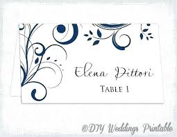 Table Card Template Download Jjbuilding Info