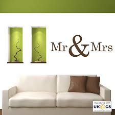 mr mrs bedroom love quote wall art stickers  on wall art stickers love quotes with mr mrs bedroom love quote wall art stickers decals vinyl decor room