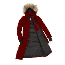 CANADA GOOSE MYSTIQUE PARKA WOMEN Redwood 3035L. Display Gallery Item 1   Display Gallery Item 2 ...