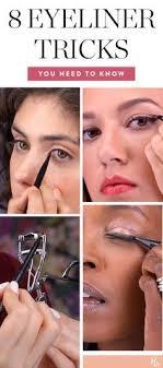 8 eyeliner tricks that will basically change your life eyeliner eyelinertricks beauty beautyinspiration makeup