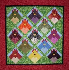KES Quilts: Chickens! & Here's the Petaluma Quilt Guild's Opportunity Quilt which was raffled off  in 2005. People are still talking about this quilt. Members of the guild  made the ... Adamdwight.com