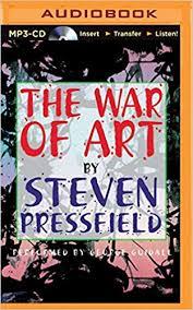 the war of art winning the inner creative battle steven pressfield george guidall 0889290380265 amazon books