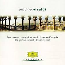 Antonio <b>Vivaldi</b>, <b>Trevor Pinnock</b>, The English Concert, The English ...