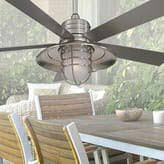 patio ceiling fans. Tropical Ceiling Fans: Overhead Palm Leaf Bamboo Blade Patio Fans