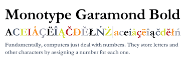 Download Garamond Monotype Garamond Bold Fonts Com