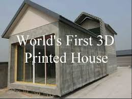 Winsun Decoration Design Engineering World's First 100D Printed Houses YouTube 21