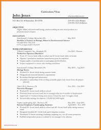 11 12 Biology Resume Objective Examples Elainegalindo Com