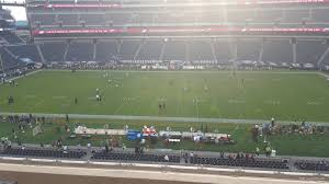 seat view for lincoln financial field section c22