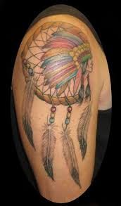 Native Dream Catcher Tattoos Marc 91