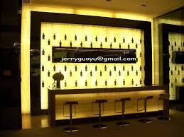 translucent honey onyx back home lighting bar reception desk zoom back bar lighting