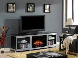 72 gotham black electric fireplace media console 26mm9313 d974