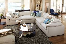 The Plush Sectional Collection Anders Ivory