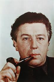 <b>André Breton</b>, with a pipe, Paris, 1939. C-Print; Resin-Coated Chromogenic <b>...</b> - Andre_Breton_with_a_pipe_Paris_1939
