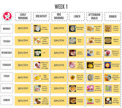 1 Year Baby Food Chart In Kannada Food Chart Meal Plan 9 Month Old Baby Mylittlemoppet