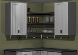 The Right Kitchen Wall Cabinets Dimension
