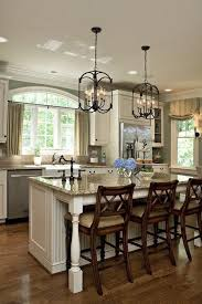 country lighting for kitchen. Stunning Lantern Style Kitchen Pendant Lighting Over Island. Country For I