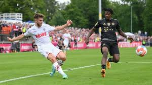 Das team von trainer julian nagelsmann musste sich dem 1. 1 Fc Koln Bezwingt Bayern Munchen Im Testspiel Fussball Sport Wdr