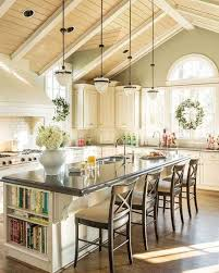 Lovely Kitchen Island And Dining Table In One