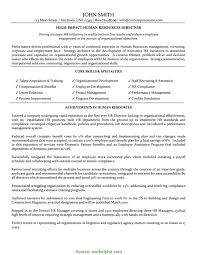 Best Human Resources Manager Resume Example Li Rs Geer Books