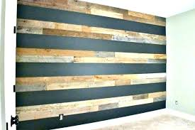 wood accent wall ideas top best wooden interiors rustic home office reclaimed barn design with grey
