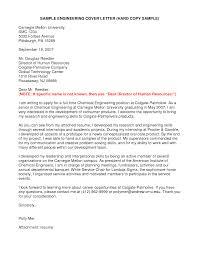 Chemical Engineering Internship Cover Letter Sample Eursto Com