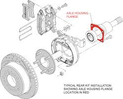 Chevy Axle Width Chart Wilwood Disc Brakes Search By Axle Flange