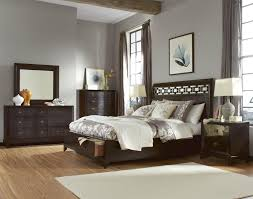 white bedroom with dark furniture. Cheap White Bedroom Furniture Sets Gray Fur Rug Laminated Flooring Bobs Natural Oak Large Window Sheer Curtain With Dark U