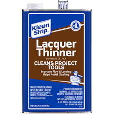 How to clean lacquer furniture High Gloss Lacquer Thinner Schultzhomesandlandcom Kleanstrip Gal Lacquer Thinnergml170psc The Home Depot