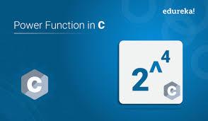 power function in c c program to