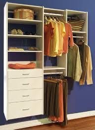 closets to go simple reach in closet organizer