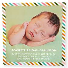 Birth Announcement Quotes Impressive Baby Birth Announcement Wording