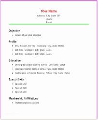 Simple Resume Sample Simple Easy Resume Examples Simple Resume Sample Ambfaizelismail