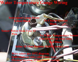 electrical diagrams Smiths Fuel Gauge Wiring Diagram water temp gauge wiring jpg (100439 bytes) Fuel Gauge Problems