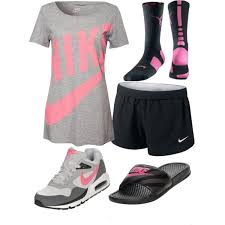 nike outfits. model workout clothing running shoes nike sport outfits