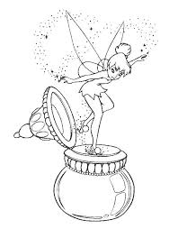 Free Tinkerbell Coloring Pages Coloring Pages To Print Cute