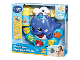 anything to do with bubbles is going to be a hit with little ones so a bath toy that secures to your tiles and actually blows bubbles is definitely going