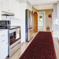 kitchen carpet best of kitchen runner rug in red available in custom sizes up to 30m length