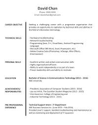 Sample Resume Graduate 18 For Fresh Graduates It Professional