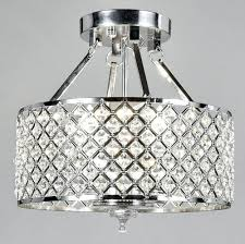 metal and crystal chandelier diamond life 4 light chrome finish round metal shade crystal chandelier semi