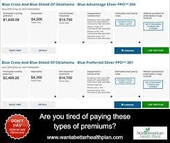 tired of paying a high health insurance premium i have plans in texas and oklahoma with 30 50 savings on premiums vs the typical care health plans