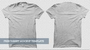 Free T Shirt Template 40 Free T Shirt Mockups Psd Templates For Your Online Store In 2019