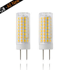 G8 Light Fixtures G8 Led Bulb 7w G8 Led Lamps 75w Halogen Bulb Replacement G8 Gy8 6 Bi Pin Base G8 Light Bulbs Ac120v 750lm Under Cabinet Counter Light 2pack