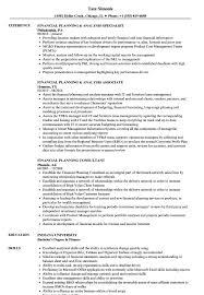 Financial Planning And Analysis Resume Examples Financial Planning Resume Samples Velvet Jobs 5