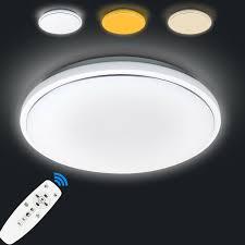 Dimmbar Led Deckenleuchte Deckenlampe Für Badezimmer Balkon Küche