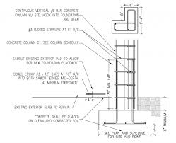 Steel Column Foundation Design Example Of Isolated Footing Concrete Column Steel Columns