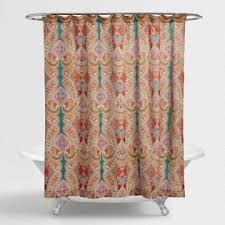 colorful shower curtains. Paisley Venice Shower Curtain Colorful Curtains E